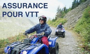 Assurance pour VTT